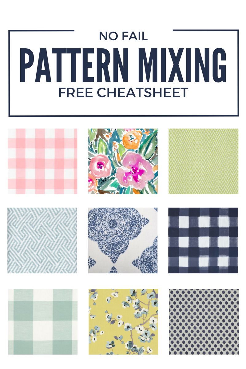 No Fail Pattern Mixing Formula - With Free Cheatsheet