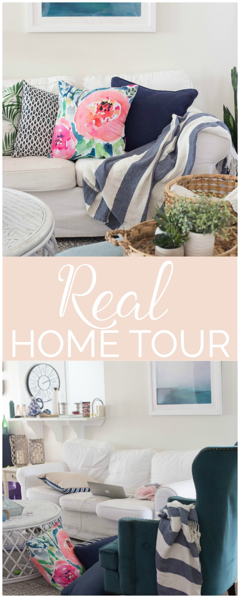 A real home tour from bloggers? Awesome! These six bloggers show what their homes really look like. I love this!