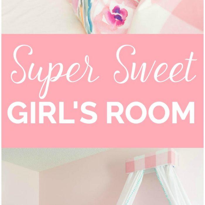 Little Girls Room Makeover