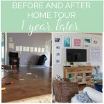 1 Year in our House – Before and Afters