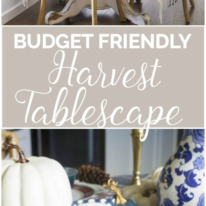 The Art of Tablescaping – Setting A Harvest Table