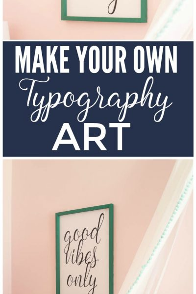 Make Your Own Typography Art