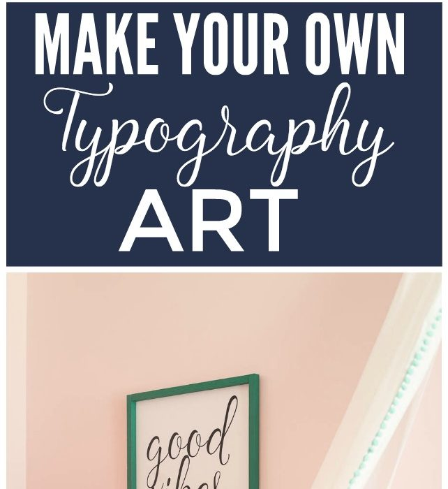 Creating Your Own Typography Art