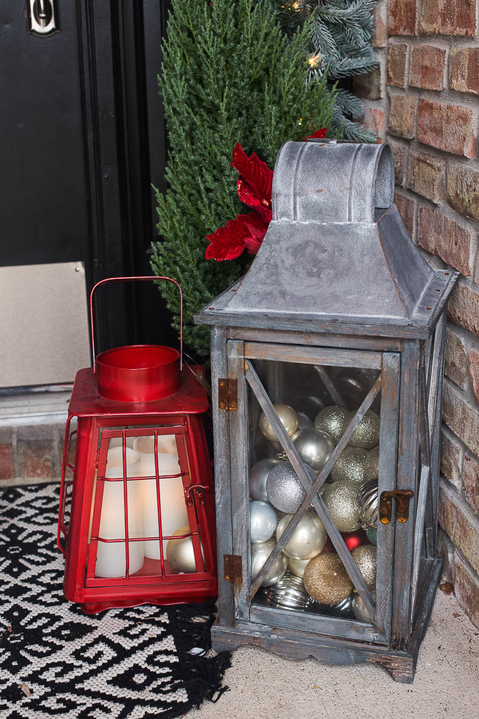 front porch christmas decor ideas 5