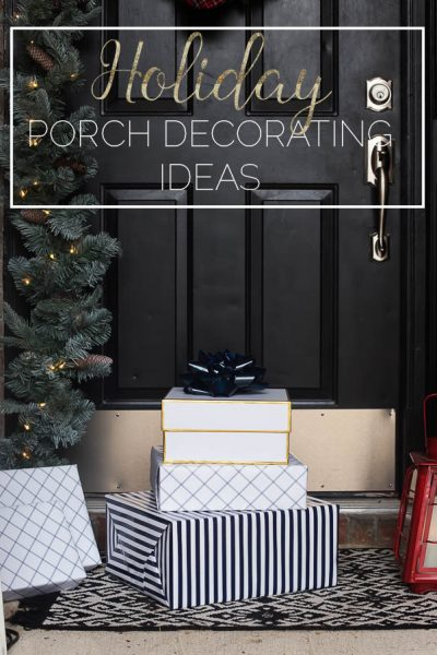 Holiday Porch Decorating Ideas