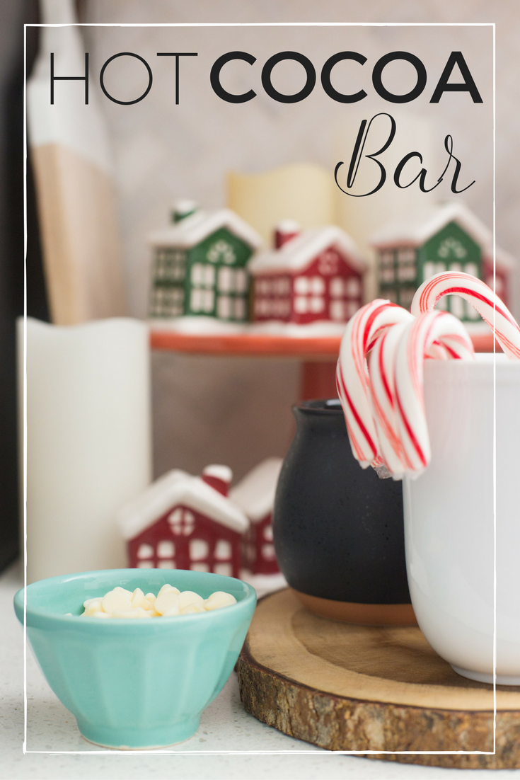 Hot Cocoa Bar with FREE Printable Sign