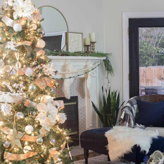 Christmas Home Tour Part 1: Living Room