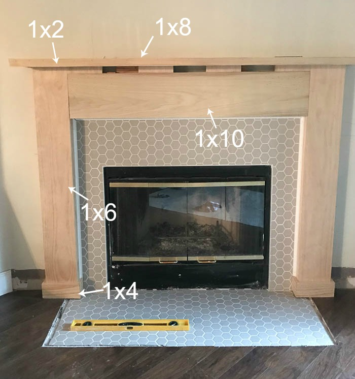 Fireplace Diy Drab To Fab Makeover