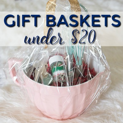 creative gift basket ideas under 20