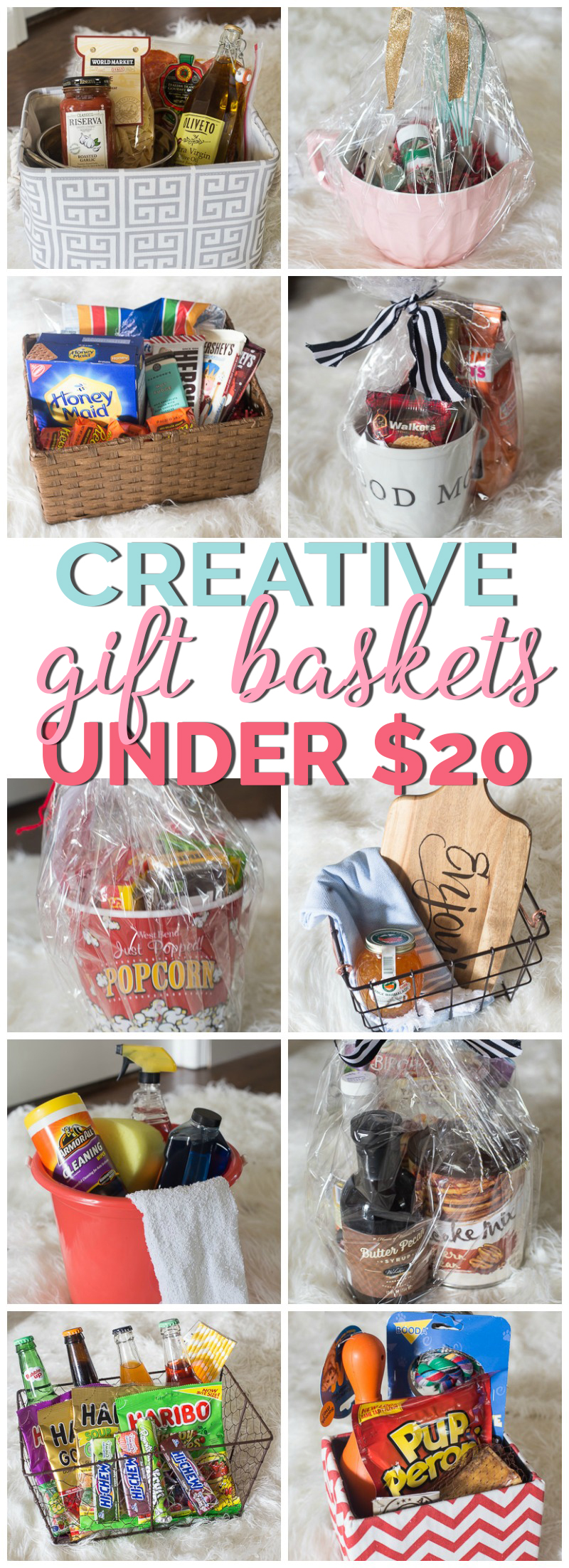 Creative gift basket ideas under 20 negle Images
