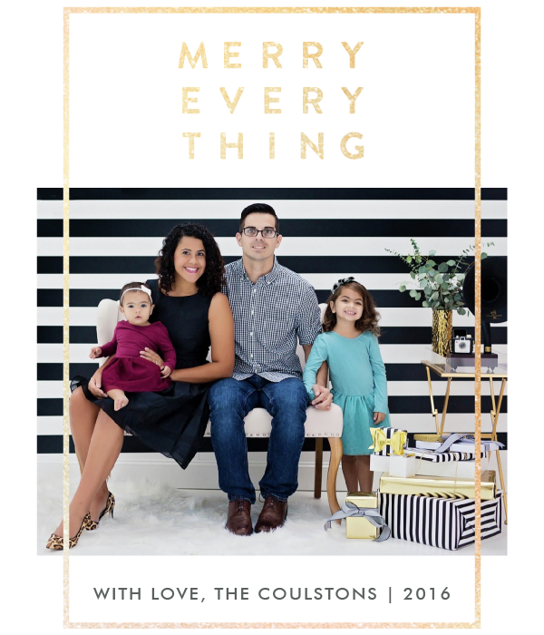 Christmas Cards + Minted Giveaway