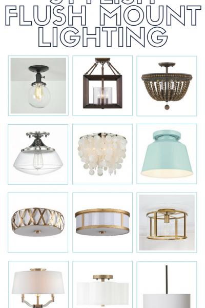 Stylish Flush Mount Lighting Options