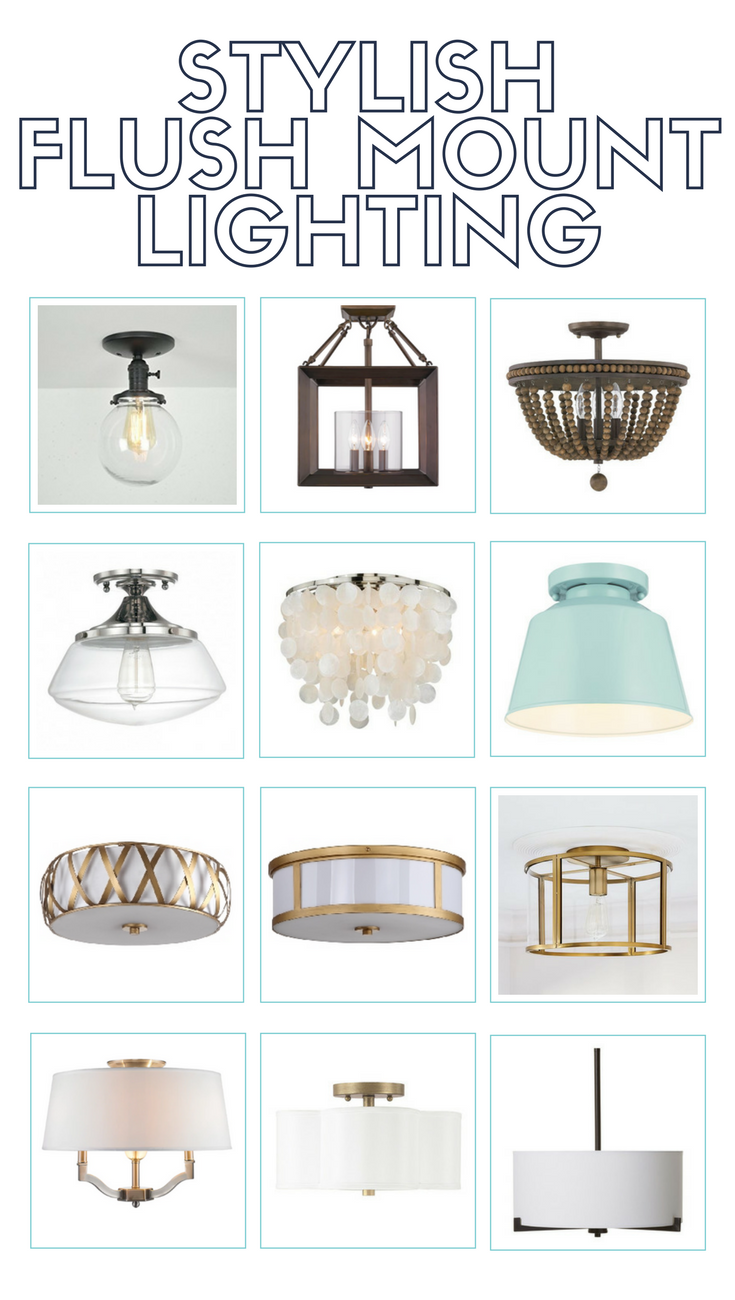 Stylish Flush Mount Lighting Options