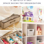 Toy Storage Hacks: Space Saving Toy Organization Ideas