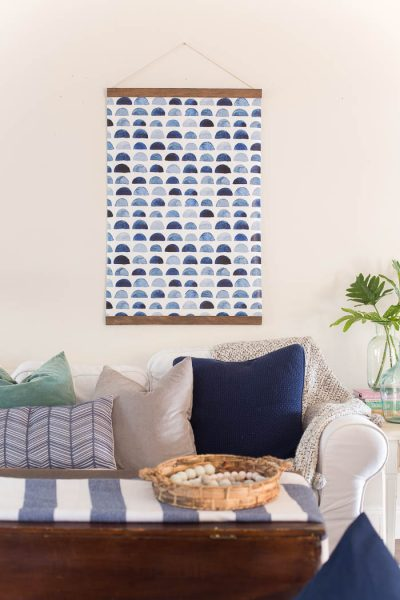 DIY Pull Down Chart Wall Art-8