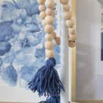 Wood Bead Garland with Tassels | DIY Friday