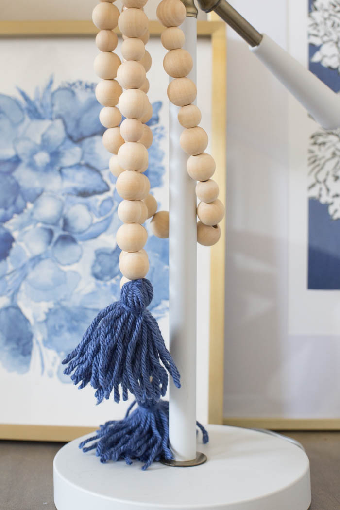 Wood Bead Garland - DIY Tutorial
