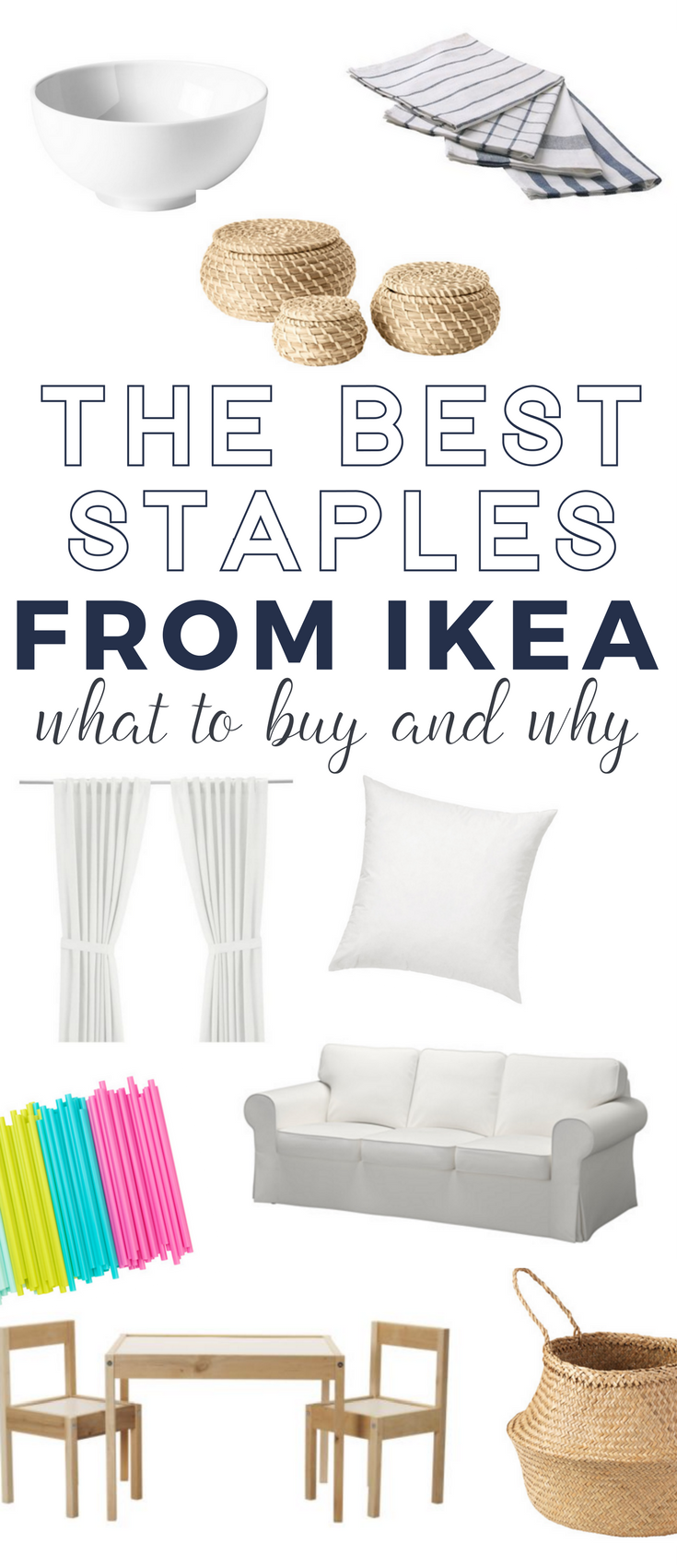 What to Buy at IKEA - a complete list of IKEA staples that everyone should know about