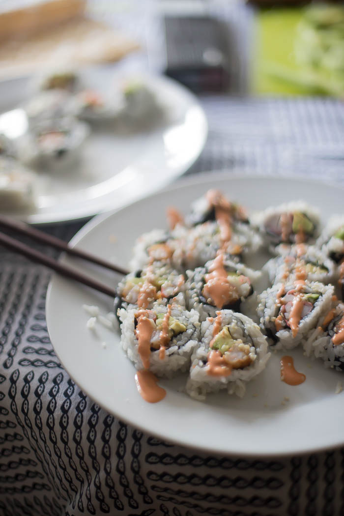 Sushi Night - How to make sushi at home with kids!