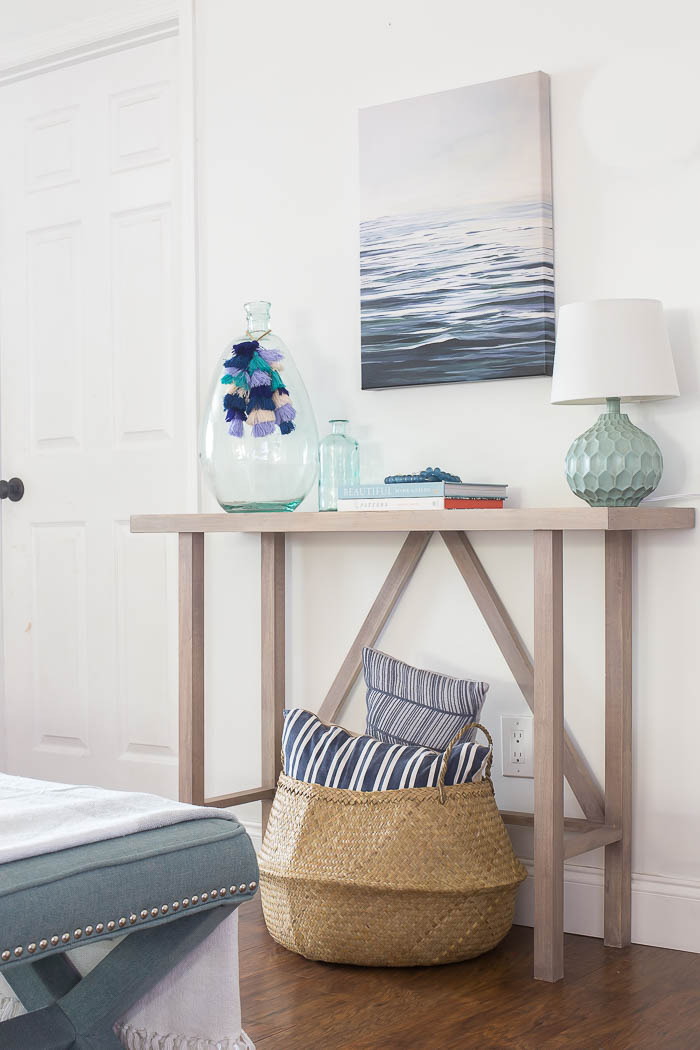 Beachy Console Table by Making Home Base