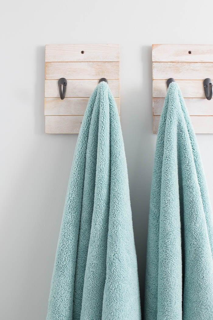 DIY Towel Hook - Easy and Functional Bathroom Organization