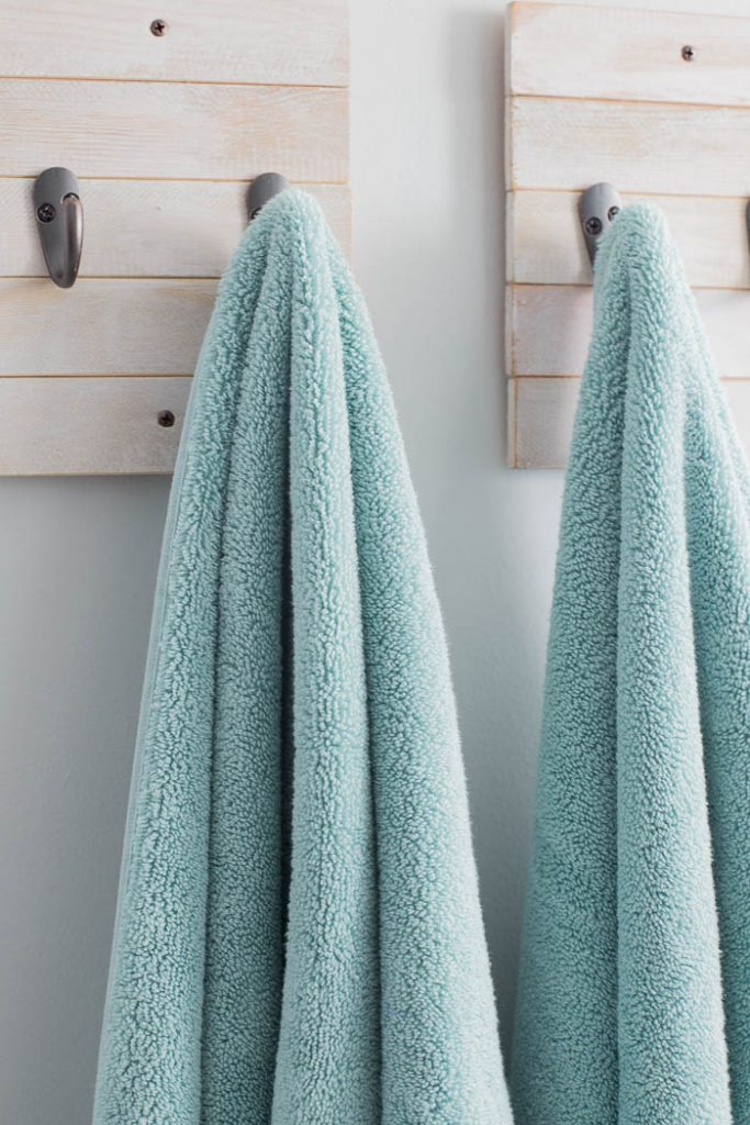 DIY Towel Hooks from scrap wood