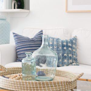 Light and Bright Summer Living Room