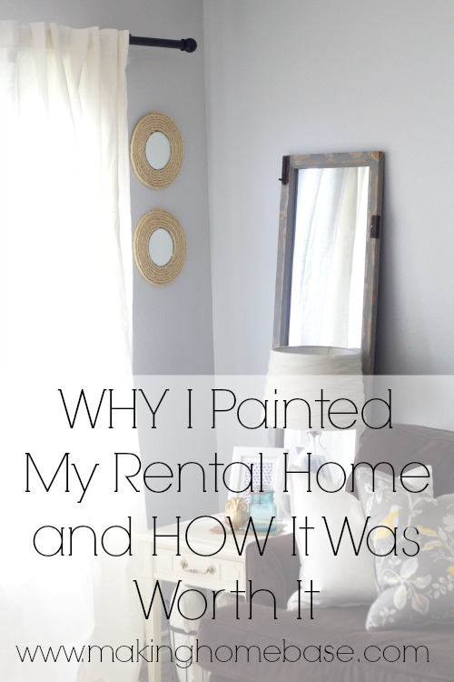 Apartment Decorating Ideas - Painting the walls in your rental might be worth it
