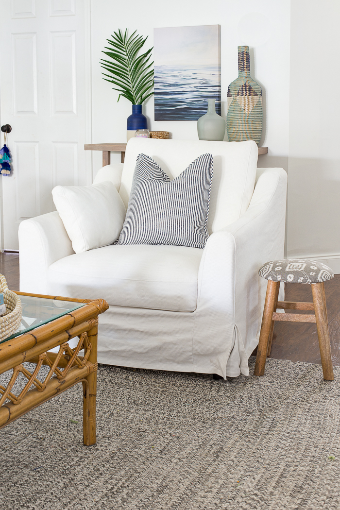 IKEA Farlov Slipcovered Chair Review - The Perfect Coastal Chic Chairs