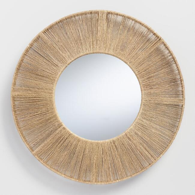 Jute Mirror from World Market