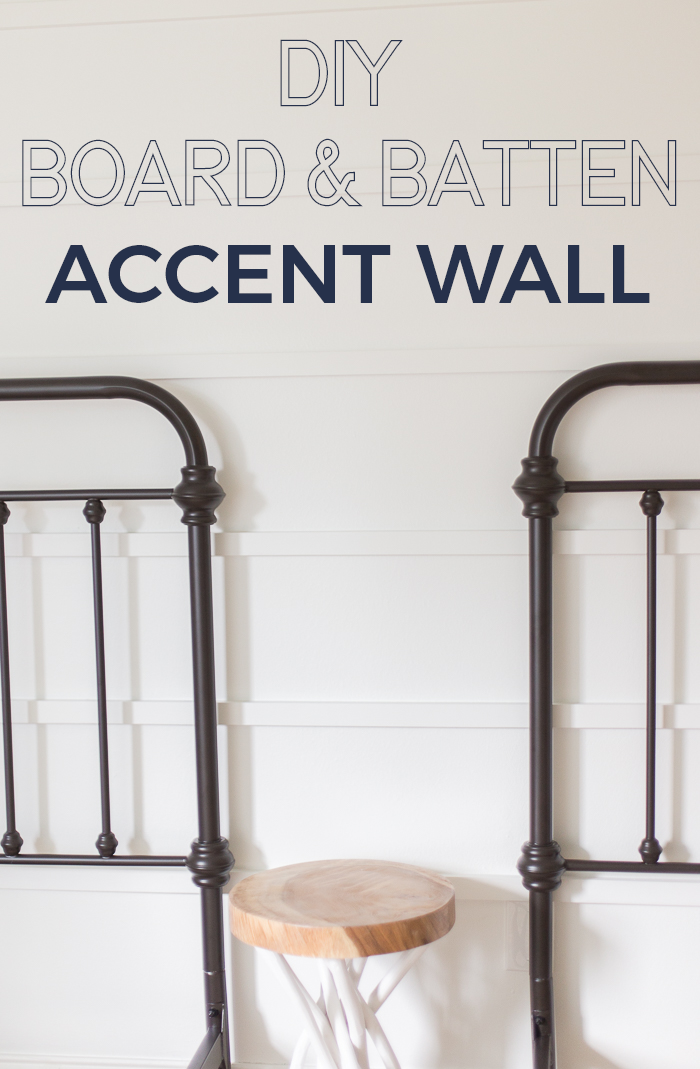 This tutorial for a DIY horizontal board and batten accent wall is gorgeous and is an afternoon project that makes a huge impact.
