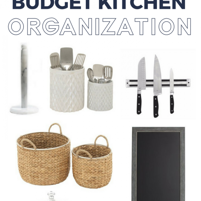Master Kitchen Organization with Budget Friendly Ideas