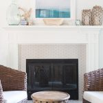 Using High Heat Paint to Update a Fireplace