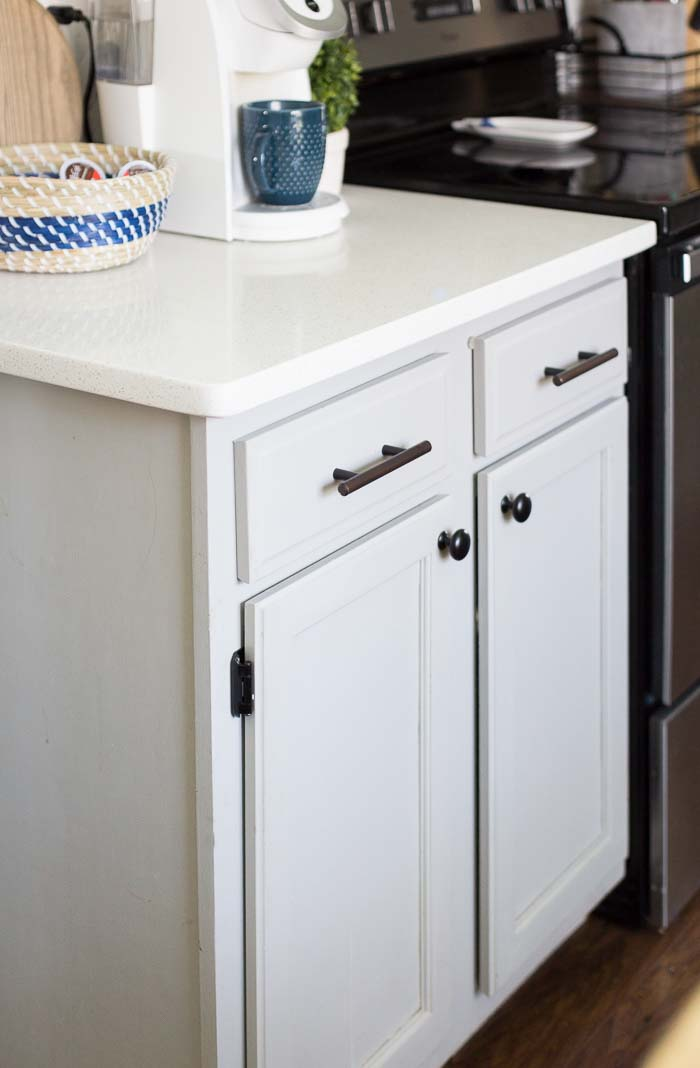 How changing out your cabinet knobs and pulls can transform your kitchen