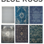 Where to find beautiful blue rugs