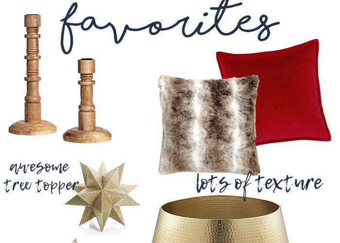 Holiday Decorating Favorites
