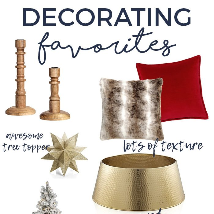Holiday Decorating Favorites