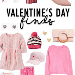 Fashion Friday – Valentine's Day Mom + Mini Style
