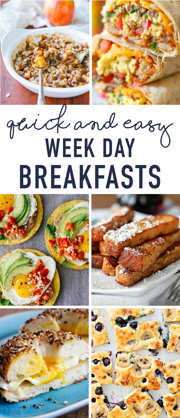 Quick And Easy Breakfast Ideas Great For Weekday Mornings