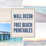 Free Beach Wall Art – Printable Beach Photos