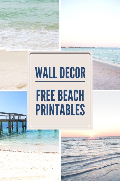 Free Beach Wall Art - Beautiful beach photos that you'll want to put on your walls!