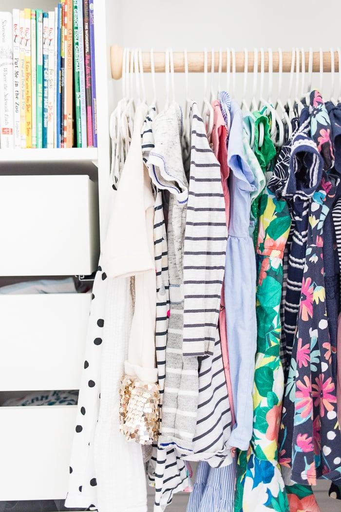 IKEA hack - closet organizer system