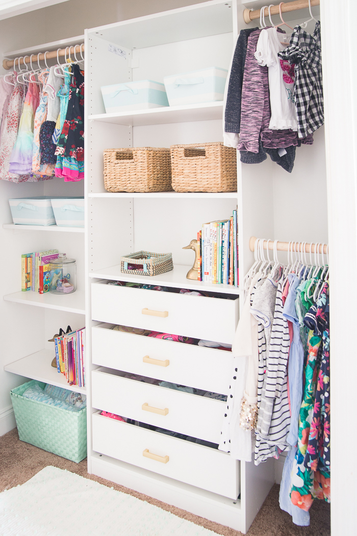 Attirant How To Create A Functional Closet Organizer In A Tiny But Mighty Closet For  Under $300