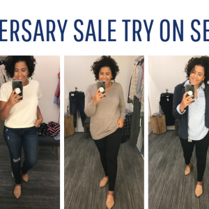Nordstrom Anniversary Sale Dressing Room Try on Sesh