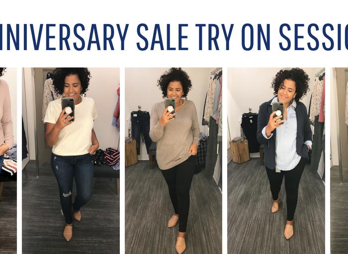 Nordstrom Anniversary Sale Dressing Room Try on Sesh