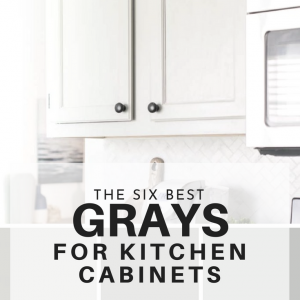 The Best Paint Colors for Gray Kitchen Cabinets