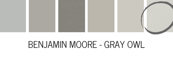 Benjamin Moore Gray Owl Is Another Beautiful Paint Color It S One Of The Most Popular Ing Colors On Market
