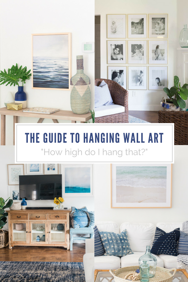 tips for hanging wall art figuring out how high to hang wall art. Black Bedroom Furniture Sets. Home Design Ideas