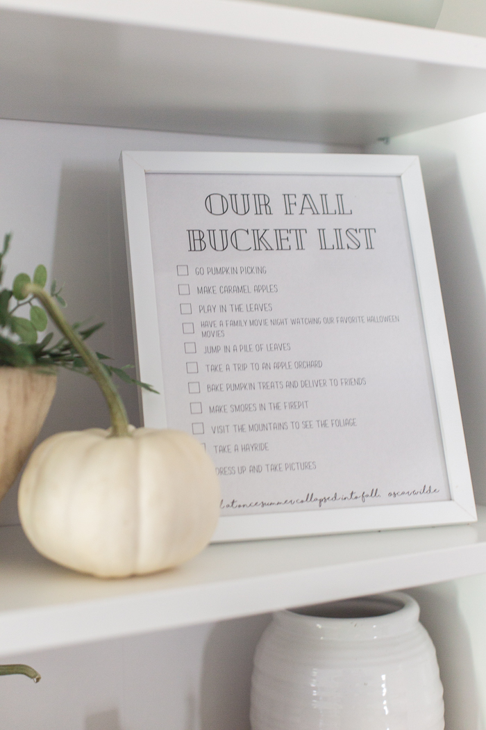 What to do with your kids this fall - a fall bucket list