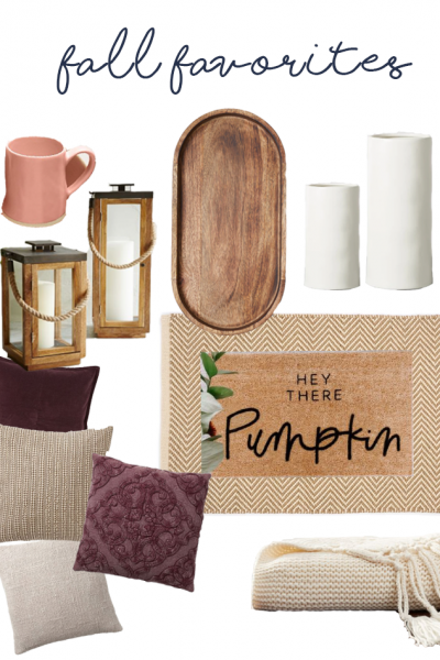 Some things I'm loving for fall - fall favorites
